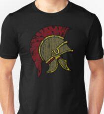 Trojan Helmet Vintage Unisex T-Shirt