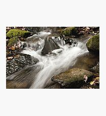 Cascading Photographic Print