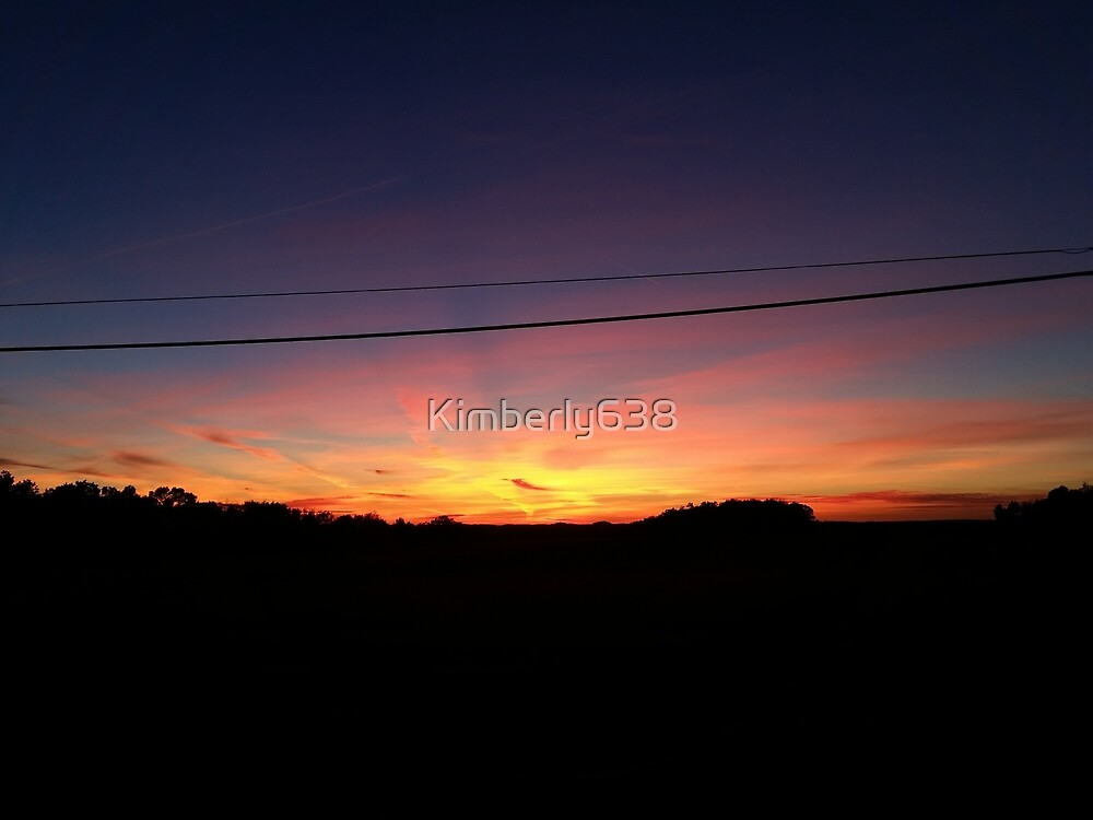 A beautiful October sunset by Kimberly638