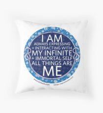 I Am Always Expressing... Throw Pillow