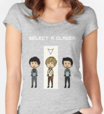 Select Newt  Women's Fitted Scoop T-Shirt