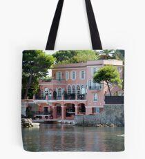 David Niven Villa On Cap Ferrat Tote Bag