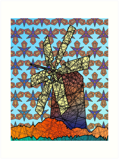 Windmill by dustygoods