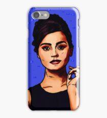 Jenna Coleman a.k.a Clara Oswald iPhone Case/Skin