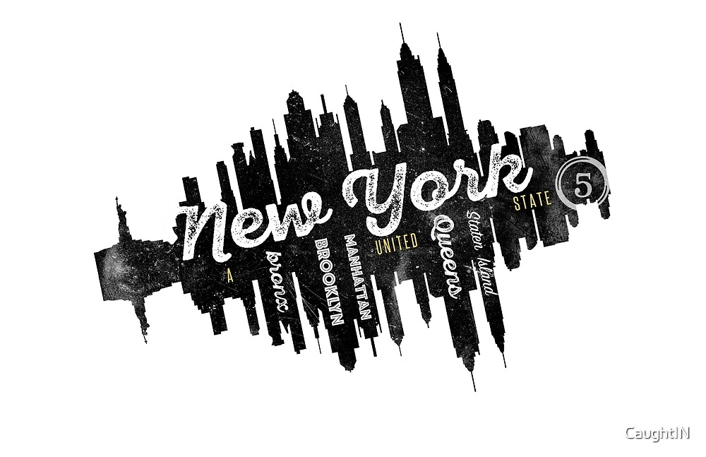 New York - A United State by CaughtIN