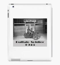 Buffalo Soldier MP iPad Case/Skin