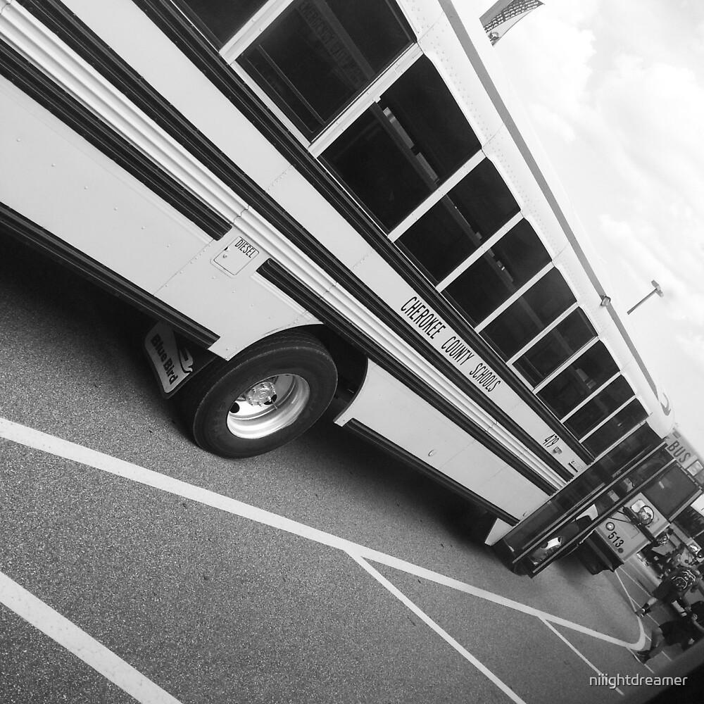 School Bus by niiightdreamer