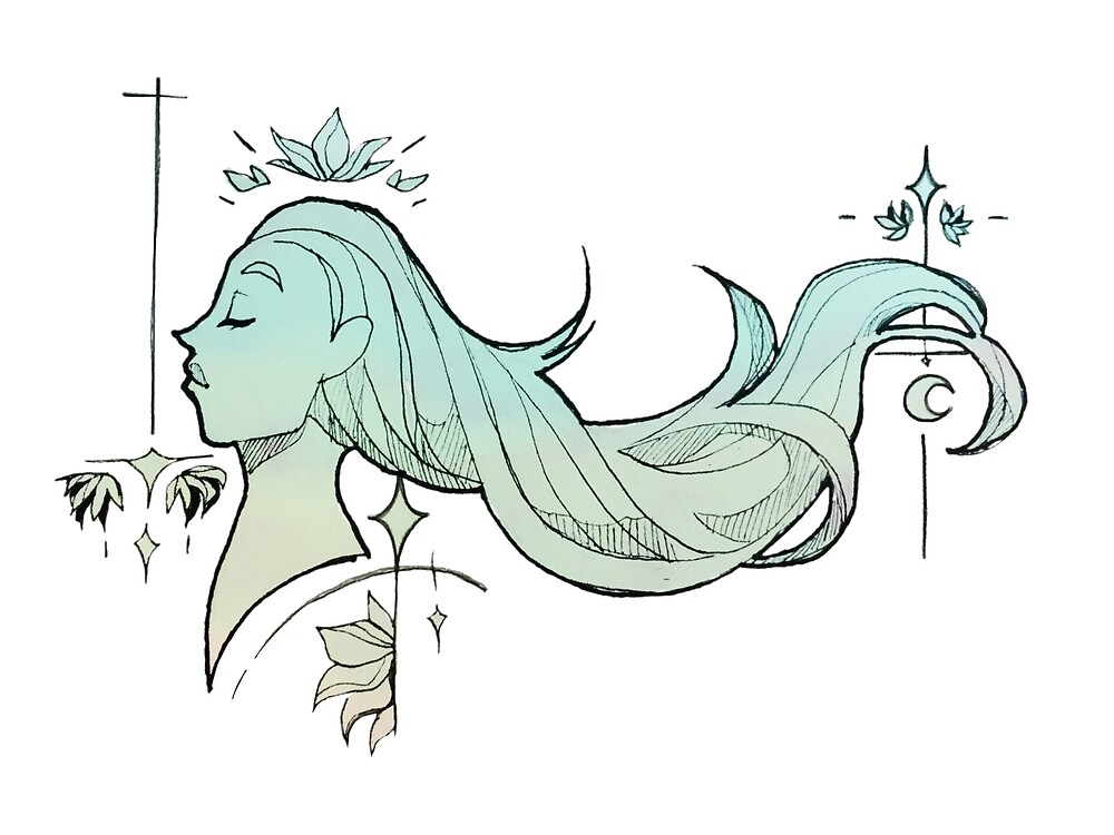 Art Nouveau Inspired 1 by aellae