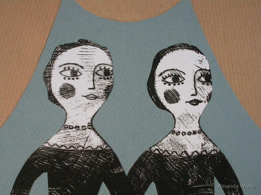 Two Sisters by Amanda White