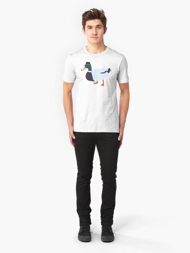 Alternate view of Fedora Duck Slim Fit T-Shirt