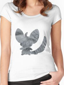 Minccino used tail slap Women's Fitted Scoop T-Shirt