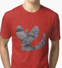 Minccino used tail slap Tri-blend T-Shirt