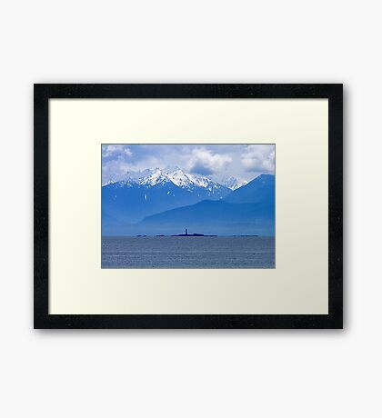 We Keep A Light Framed Print