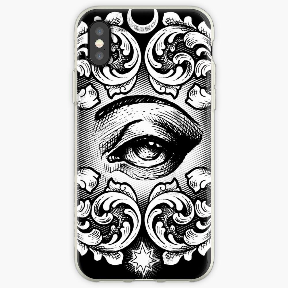 Tercer ojo Vinilos y fundas para iPhone
