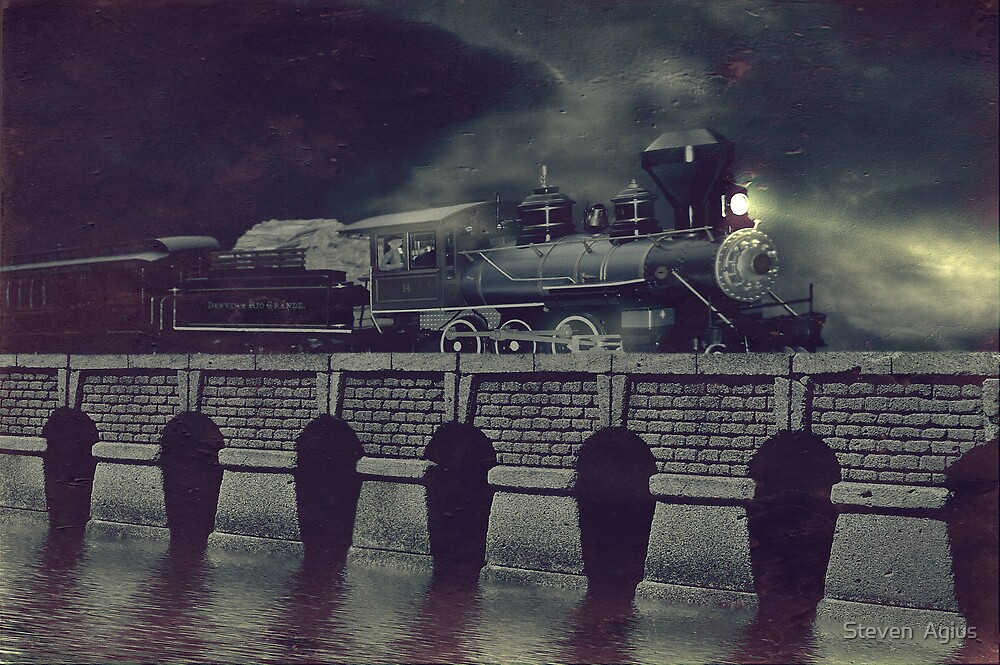 Steaming on By by Steven  Agius