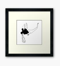 Hiccup the Dragon Framed Print