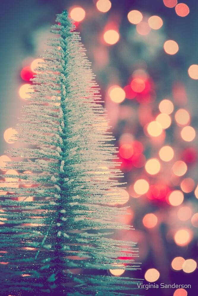 Seasons Greetings -- Retro Sparkle by Virginia Sanderson