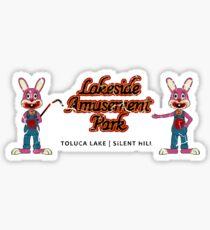 Lakeside Amusement Park Sticker