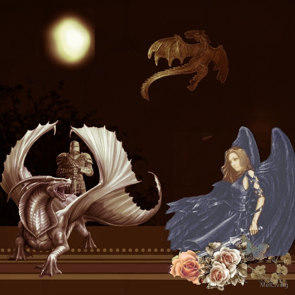 The Lady and the Dragon Slayer by MelLiving