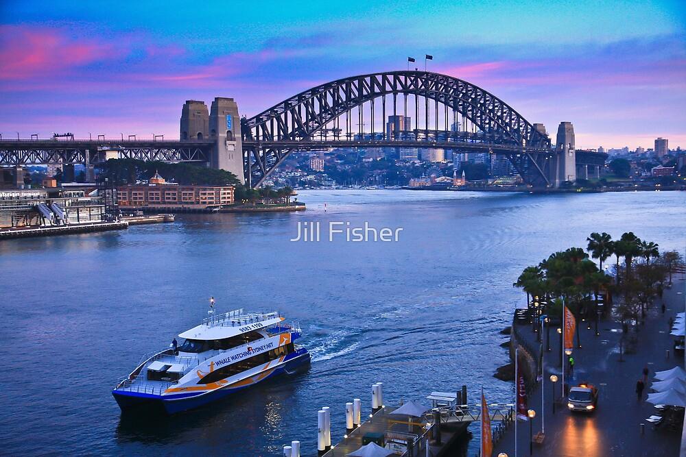 Sydney Harbour Sunrise by Jill Fisher
