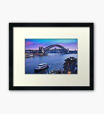 Sydney Harbour Sunrise Framed Print