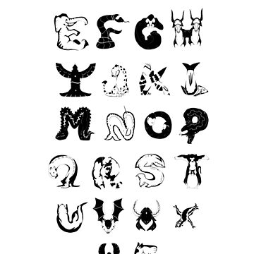 Animal Alphabet by AllegroAlley