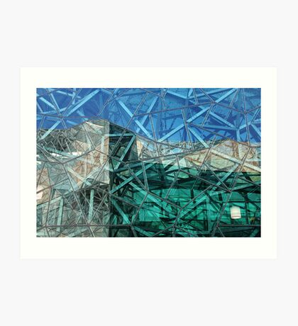 Federation Square, Melbourne Art Print