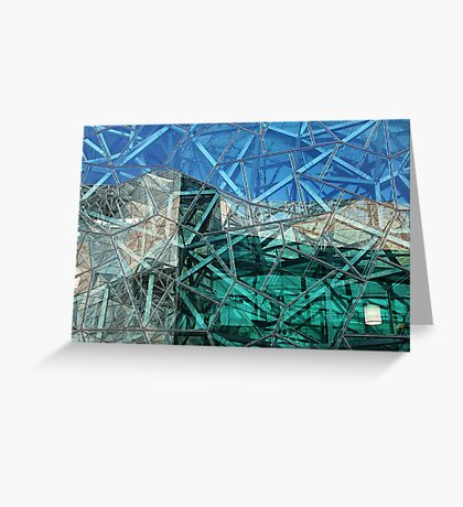 Federation Square, Melbourne Greeting Card