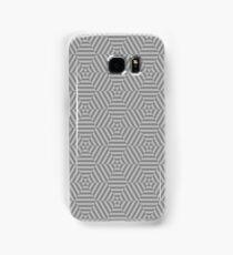Hexagon Grey Samsung Galaxy Case/Skin