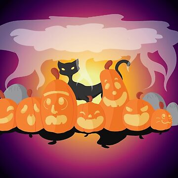 Pumpkins are Cats Best Friend by AllegroAlley