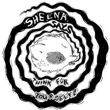 Sheena Says! Illustration by katherinepigott