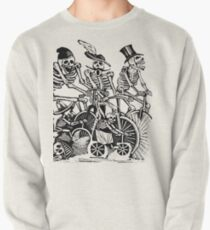 Calavera Cyclists | Black and White Pullover