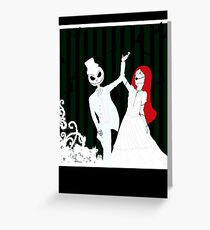 Dancing Through Your Nightmares Greeting Card