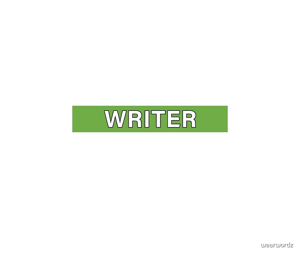Writer by wearwordz