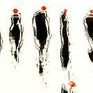 LITTLE BLACK DRESS by Laura E  Shafer