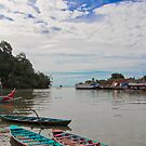 Boat harbour, Padang by Naomi Brooks