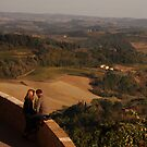 Two Couples in Tuscany by berndt2