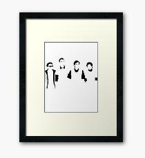 The Crushers Framed Print