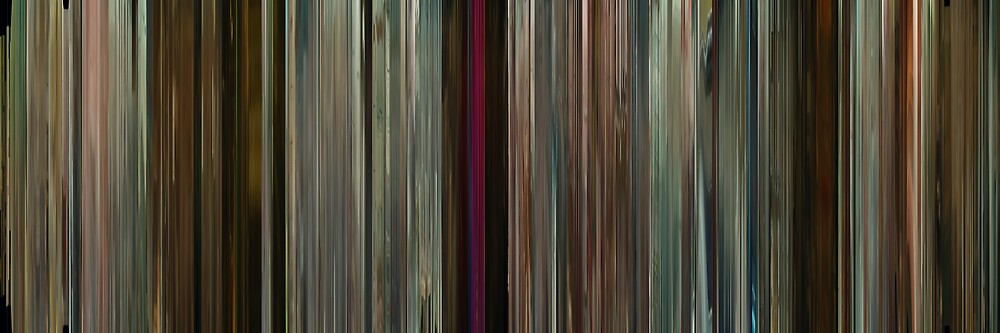 Moviebarcode: Potiche (2010) by moviebarcode