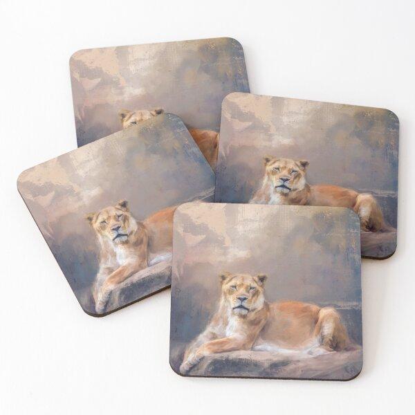 Lady Leo Coasters (Set of 4)