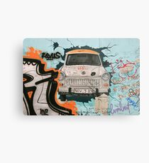 Fragment of Berlin wall Metal Print
