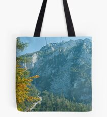 Cable Car at Rauschberg Mountain Tote Bag