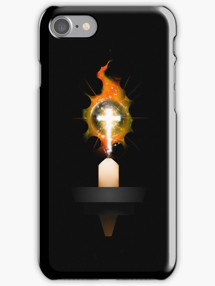 Let your light shine iPhone Cover by webart