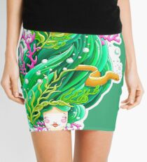 Bobbing along on the beautiful briney sea Mini Skirt
