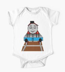 Toddlers Cartoon Lyle the Toy Train Engine Tshirt One Piece - Short Sleeve