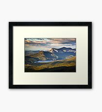 Table Rock Sunrise - Caesar's Head State Park Landscape Framed Print