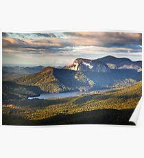 Table Rock Sunrise - Caesar's Head State Park Landscape Poster