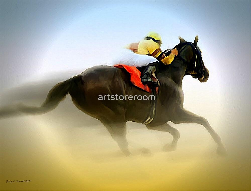 Horse and Rider by artstoreroom