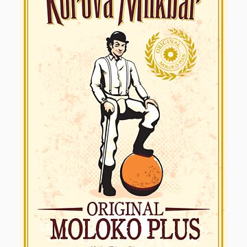 Moloko Plus - Sticker by andyhunt