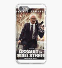 Bernie Sanders Attack on Wall Street iPhone Case/Skin